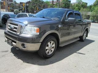 Used 2006 Ford F-150 King Ranch 5.4L 4X4 Accident Free| Sunroof. for sale in Toronto, ON