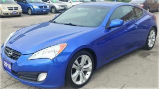 Used 2010 Hyundai Genesis Coupe Premium for sale in Hamilton, ON