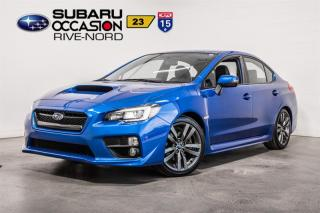 Used 2017 Subaru WRX Sport-Tech NAVI+CUIR+TOIT.OUVRANT for sale in Boisbriand, QC
