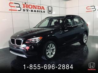 Used 2014 BMW X1 xDrive + CUIR + TOIT PANO + BAS KILO + C for sale in St-Basile-le-Grand, QC