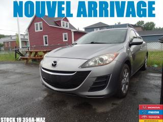 Used 2010 Mazda MAZDA3 GS|BLUETOOTH|A/C|REGVIT|GRELEC|MAG| for sale in Drummondville, QC