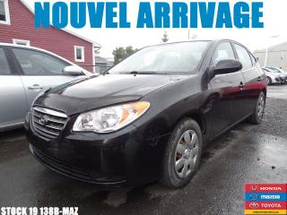 Used 2008 Hyundai Elantra GL|65690KM|WOW!!SIEGCHAUF|A/C|REGVIT| for sale in Drummondville, QC