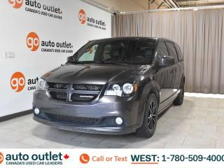 Used 2018 Dodge Grand Caravan Gt, 3.6L V6, Fwd, Third row 7 passenger seating, Leather seats, Heated front seats, Heated steering wheel, Backup camera, Bluetooth for sale in Edmonton, AB