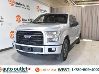 Used 2015 Ford F-150 Xlt, 2.7L V6, EcoBoost, SuperCrew cab, Short box, Cloth seats, Bluetooth for sale in Edmonton, AB