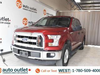 Used 2016 Ford F-150 Xlt, 5.0L V8, SuperCrew cab, Short box, Cloth seats, Backup camera, Bluetooth for sale in Edmonton, AB