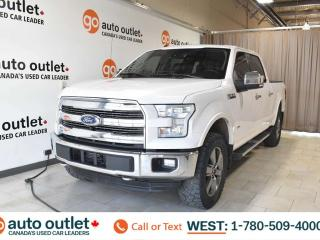 Used 2016 Ford F-150 Lariat, 3.5L V6, EcoBoost, 4x4, SuperCrew cab, Navigation, Heated/Cooled leather seats, Sunroof/Moonroof, Backup camera, Bluetooth for sale in Edmonton, AB