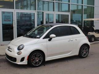 Used 2016 Fiat 500 C ABARTH CABRIOLET ! / 5 SPEED / TOUCHSCREEN RADIO / PARKING SENSORS / LOW KM!!!! for sale in Edmonton, AB