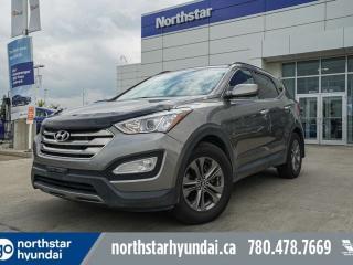 Used 2013 Hyundai Santa Fe PREMIUM/TURBO/AWD/HEATEDSTEERINGANDSEATS/POWERSEAT/DUALCLIMATE for sale in Edmonton, AB