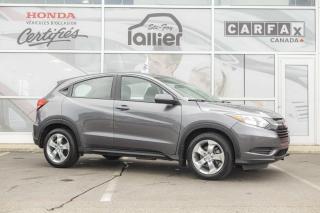 Used 2016 Honda HR-V LX ***GARANTIE GLOBALE JUSQU'EN 2021*** for sale in Québec, QC