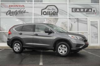 Used 2015 Honda CR-V LX AWD ***GARANTIE 10 ANS/200 000 KM*** for sale in Québec, QC