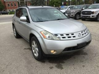 Used 2003 Nissan Murano SE for sale in Harriston, ON