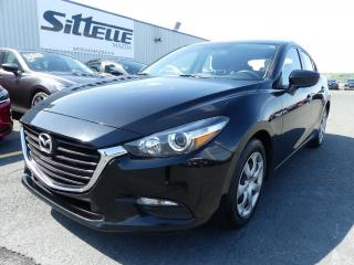 Used 2017 Mazda MAZDA3 Sport GX / MANUELLE / AIR CLIMATISE for sale in St-Georges, QC