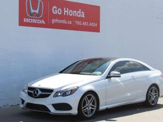 Used 2014 Mercedes-Benz E-Class E350 Coupe 4Matic for sale in Edmonton, AB