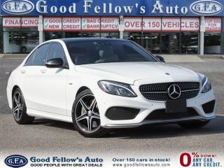 Used 2016 Mercedes-Benz C450 4MATIC, PANORAMIC ROOF, BLIND SPOT MONITORING for sale in Toronto, ON