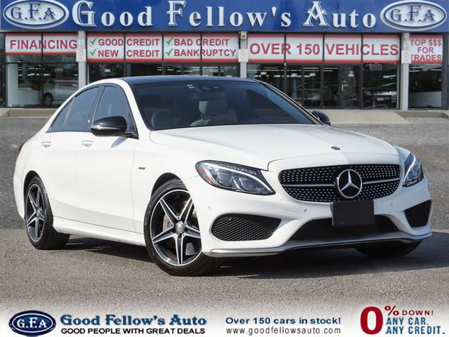 2016 Mercedes-Benz C450 4MATIC, PANORAMIC ROOF, BLIND SPOT MONITORING