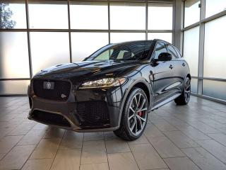 Used 2020 Jaguar F-PACE SVR - 550HP for sale in Edmonton, AB