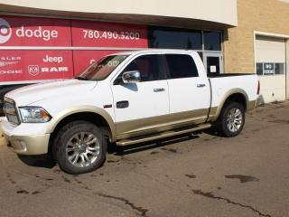 Used 2015 RAM 1500 Longhorn 4x4 Crew Cab / GPS Navigation / Sunroof for sale in Edmonton, AB