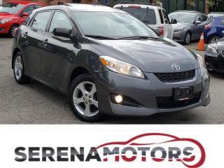 Used 2014 Toyota Matrix MANUAL | SUNROOF | BLUETOOTH | ONE OWNER | for sale in Mississauga, ON