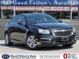 Used 2015 Chevrolet Cruze 1LT MODEL, REARVIEW CAMERA, SUNROOF, BLUETOOTH for sale in Toronto, ON