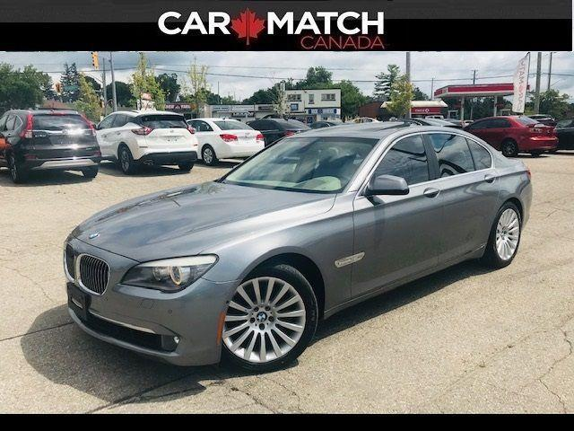 2012 BMW 7 Series 750i xDrive / LEATHER / NAV / ROOF