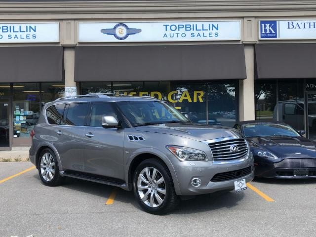 2014 Infiniti QX80 Fully Loaded, Clean CarFax