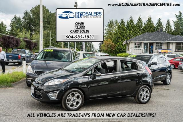 2011 Ford Fiesta SES Hatchback, Sunroof, 142k, Bluetooth, Clean!
