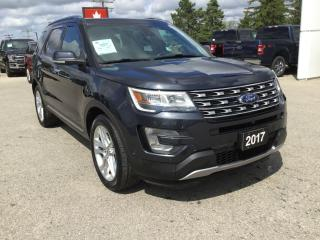 Used 2017 Ford Explorer Limited | Accident Free | Winter Tires,Rims,Sensor for sale in Harriston, ON