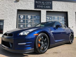 Used 2016 Nissan GT-R Black Edition No Accidents RAYS Racing Wheels for sale in Guelph, ON