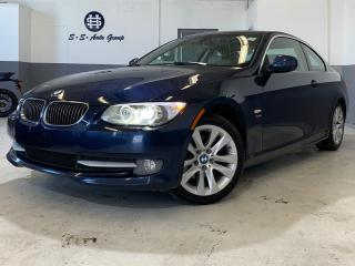 Used 2011 BMW 328xi COUPE 6 SPEED|ACCIDENT FREE|AWD|ONE OWNER|SENSORS| for sale in Oakville, ON