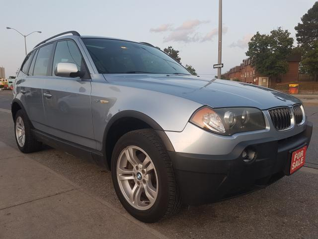 2005 BMW X3 3.0i- EXTRA CLEAN-PANORAMA SUNROOF-LEATHER-ALLOYS