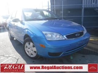 Used 2007 Ford Focus SE 4D Sedan for sale in Calgary, AB