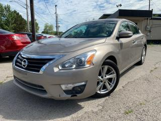 Used 2015 Nissan Altima *HEATED Seats - Driver AND PASSENGER*LEATHER*SUN ROOF*NAVI for sale in London, ON