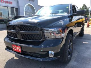 Used 2019 RAM 1500 Classic Express Quad 4x4 V6 Night Pack for sale in Hamilton, ON
