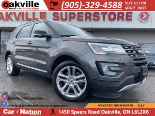 Used 2017 Ford Explorer XLT | LEATHER | PANO ROOF | NAVI | B/U CAM for sale in Oakville, ON