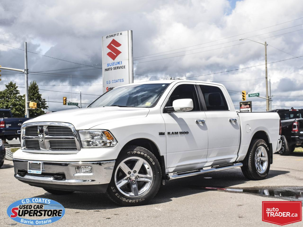 Used Tires Barrie >> Used 2012 Ram 1500 Slt For Sale In Barrie Ontario Carpages Ca