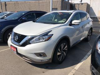 Used 2016 Nissan Murano 2016 Nissan Murano - AWD 4dr Platinum for sale in St. Catharines, ON