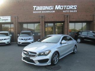Used 2015 Mercedes-Benz CLA-Class CLA250 4MATIC | NAVIGATION | A.M.G | LEATHER | HEATED SEATS for sale in Mississauga, ON