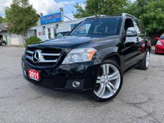 Used 2011 Mercedes-Benz GLK-Class 4MATIC 4dr 3.5L w/ Navi, Backup Cam, Leather & Accident Free for sale in Brampton, ON