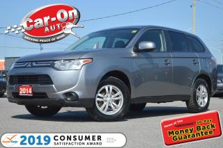 Used 2014 Mitsubishi Outlander AWD HEATED SEATS PWR GRP BLUETOOTH ALLOYS for sale in Ottawa, ON