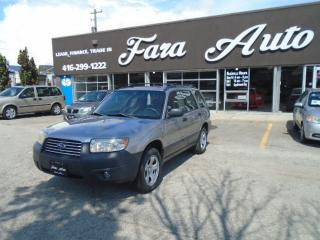 Used 2006 Subaru Forester AUTOMATIC AWD 2.5X for sale in Scarborough, ON