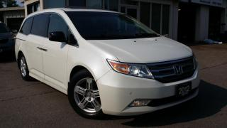 Used 2012 Honda Odyssey Touring 2012 Honda Odyssey Touring - LEATHER! NAV! BACK-UP CAM! DVD! BSM! for sale in Kitchener, ON