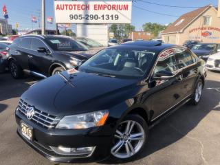 Used 2015 VW PASSAT 1.8T Highline TSI Navigation/Camera/Sunroof/Leather for sale in Mississauga, ON