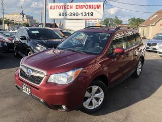 Used 2015 Subaru Forester 2.5i TOURING Sunroof/Camera/Heated Seats/Bluetooth&GPS* for sale in Mississauga, ON