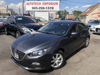 Used 2015 Mazda MAZDA3 Automatic Bluetooth/All Power/Keyless&GPS* for sale in Mississauga, ON