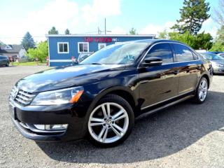 Used 2013 Volkswagen Passat Comfrtline Sport TDI DSG Leather Sunroof Bluetooth Certified 2013 Volkswagen Passat Comfrtline Sport TDI DSG Leather Sunroof Bluetooth Certified for sale in Guelph, ON