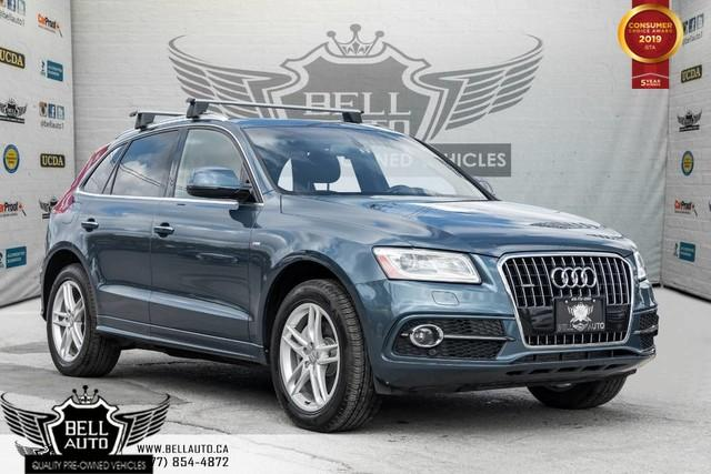 2016 Audi Q5 3.0L TDI Technik, AWD, NAVI, BACK-UP CAM, PANO ROOF, BLINDSPOT