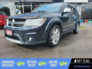 Used 2012 Dodge Journey R/T ** Leather, Sunroof, Remote Start, AWD ** for sale in Bowmanville, ON