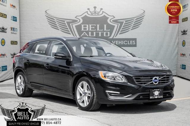 2016 Volvo V60 T5 Premier, NO ACCIDENT, AWD, NAVI, BACK-UP CAM, SUNROOF, BLINDSPOT