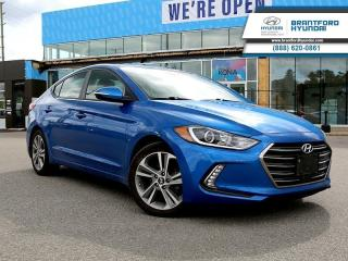 Used 2018 Hyundai Elantra GLS Auto  - Sunroof -  Leather Seats - $115 B/W for sale in Brantford, ON