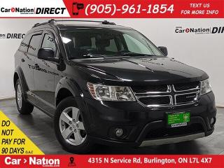 Used 2012 Dodge Journey SXT| LOCAL TRADE| DVD| PUSH START| for sale in Burlington, ON
